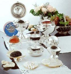 Caspian Sea Russian Caviar Extravagance – Sevruga and Osetra (Free Overnight Shipping!)
