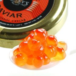 Marky's Salmon Ikura Caviar, Keta Chum – 4 oz