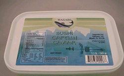 Capelin Roe Wasabi, Masago, Wild, Frozen, Sushi Caviar – 1 lb