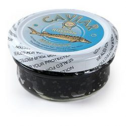 Sturgeon (Black) Caviar 56 g (2 oz.) jar