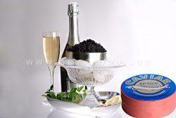 OLMA Black Caviar Paddlefish 17.6 oz (500g) Metal Tin
