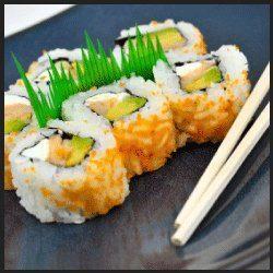 Ginger Sushi Caviar Tobiko
