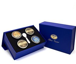 """Four Seasons"" Black Caviar Gift Box"