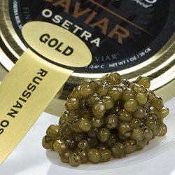 Osetra Golden Imperial Russian Caviar – Malossol, Farm Raised – 35.2 oz