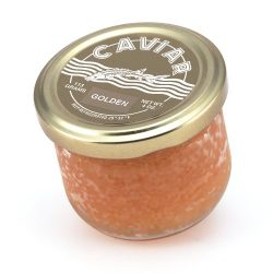 Marky's Whitefish Caviar, Golden from USA – 4 oz