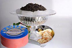 OLMA Black Caviar Kaluga 16 oz (454g) Metal Tin