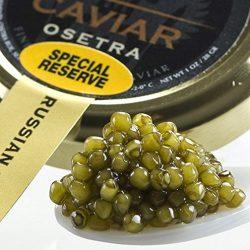 Osetra Special Reserve Russian Caviar – Malossol – 5.5 Oz Jar