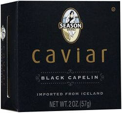 Season Product Black Capelin Caviar, 2 oz