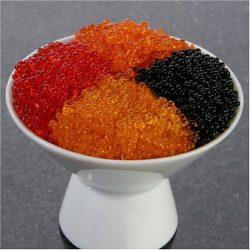 Flying Fish Roe 16 oz – Tobiko Caviar Black Sushi Grade