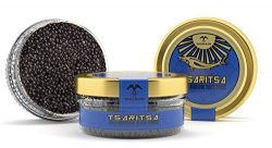 LIMITED TIME OFFER! Caspian Tradition RUSSIAN Style TSARITSA FRESH Salmon & Bowfin Malossol  ...