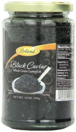 12 OZ BLACK LUMPFISH CAVIAR