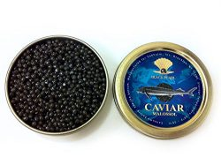 Ossetra Sturgeon caviar 100g (3.5 oz). Complimentary upgrade to Overnight UPS shipping.