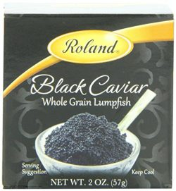 Roland Black Lumpfish Caviar, 2-Ounce Jars (Pack of 2) by Roland