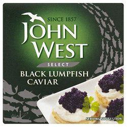 John West Black Lumpfish Caviar (50g) – Pack of 6