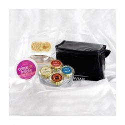 American Caviar Gift Set in a Presentation Cooler