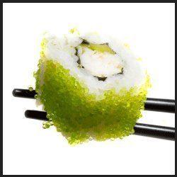 Wasabi Sushi Caviar Tobiko by Iceland