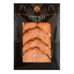 Kosher Smoked Salmon, Gravlax, Sliced from Scotland – Approx. 4 oz