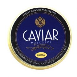 Osetra Amur Imperial Gold Caviar Fresh Farmed – 1 oz