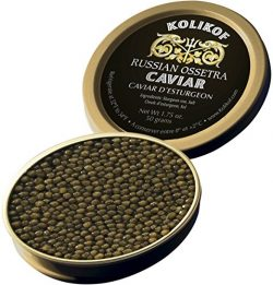 Kolikof Russian Ossetra Caviar – 50g / 1.75 oz. – Courtesy FedEx Overnight. Order M-Th by  ...