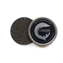 Caviar Russe Classic Osetra Caviar, Caspian Sea Caviar, 1 oz (Acipenser Gueldenstaedtii)