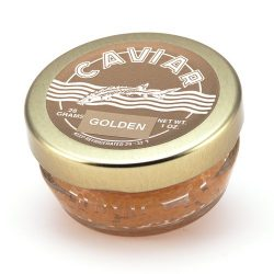 Marky's Whitefish Caviar, Golden from USA – 1 oz