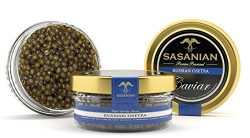 SALE GUARANTEED OVERNIGHT! Fresh Russian Osetra STURGEON Caviar – 4 oz + FREE SPOON