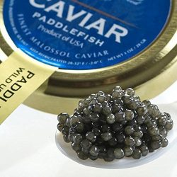 American Paddlefish Caviar, Spoonbill 5.5 Oz by Marky's Caviar
