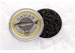Aki Russian Siberian caviar 50g (bottle)