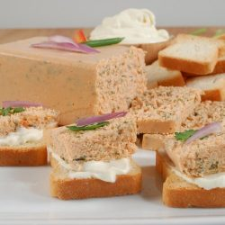 Smoked Salmon And Spinach Mousse Pate – All Natural