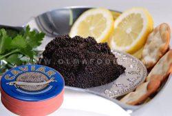 OLMA Siberian Osetra Aurora Black Caviar 8.8 oz (250g) Metal Tin