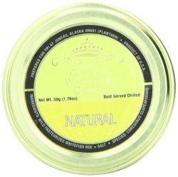 Plaza Premium Amazon Quality Golden Whitefish Caviar, Natural, 1.76 Ounce by Plaza Premium Amazo ...