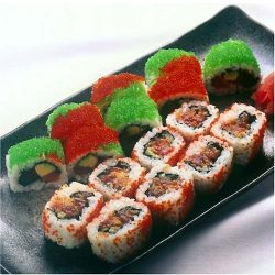 Flying Fish Roe Sampler 20 oz – Tobiko Caviar Wasabi, Red, Orange, Black & Golden R ...