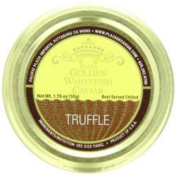 Plaza Premium Amazon Quality Golden Whitefish Caviar, Truffle Infused, 1.76 Ounce by Plaza Premi ...