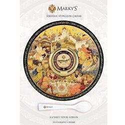 Marky's Caviar Siberian Sturgeon Royal Caviar, Farmed – 1 oz