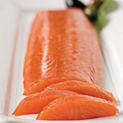 Scottish Smoked Salmon Heart Fillet Royal Cut – 1 lbs