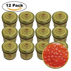 Red Caviar for Restaurant & Catering Events – Salmon Trout Caviar Roe – RUSSIAN  ...