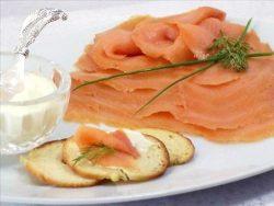 Scottish Smoked Salmon, Sliced, 8 oz