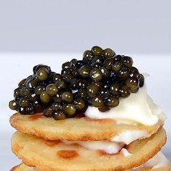 Marky's Caviar Beluga Hybrid Bester Romanian Caviar, Farmed – 3. 5 oz