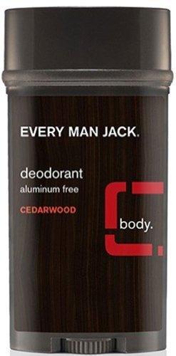 Every Man Jack Every Man Jack Cedarwood Deodorant Aluminum Free-3 oz Stick by Every Man Jack