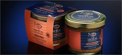 "Bottarga Stefos {SMOKED} Grated in Jars from Greece""The Art of Seafood"" Traditional  ..."