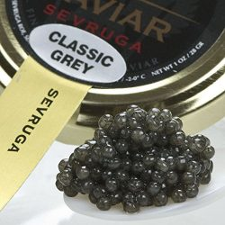Sevruga Classic Grey Caviar – Malossol, Farm Raised – 2 oz