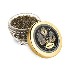 Marky's Sevruga Caviar, Malossol – 1.75 oz (Cristal Gift Jar)