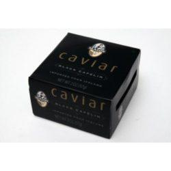 Season Brand Caviar – Black Capelin (Iceland) Case Pack 12 Season Brand Caviar – Bla ...