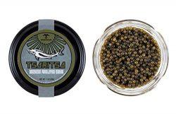 GUARANTEED OVERNIGHT! Premium American Wild Spoonbill Paddlefish Caviar by Tsaritsa