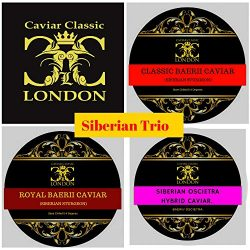Siberian selection Trio of Caviar (3 x 50 gr) 2-3 day delivery