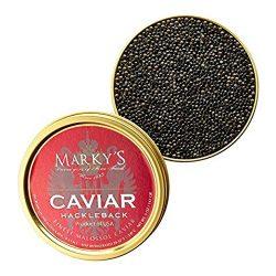 Marky's Hackleback Caviar Black American Sturgeon – 8 oz