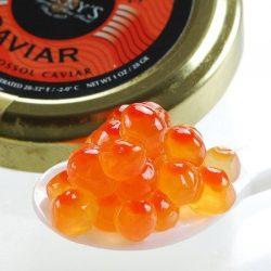 Salmon Ikura Roe Keta Chum Caviar – 9 oz