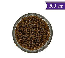 Russian Ossetra Sturgeon Caviar, Acipenser Gueldenstaedtii, 5.3 oz / 150 gm Jar plus Mother of P ...