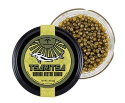 TSARITSA Fresh Russian Osetra Farmed Sturgeon Caviar – 1 oz