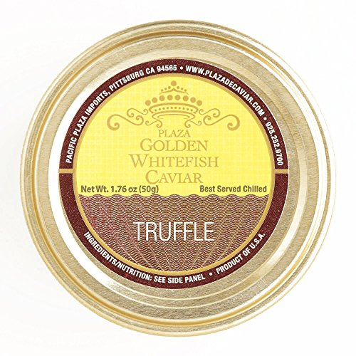 Pacific Truffle Golden Whitefish Caviar (4 Items Per Order, not per case)